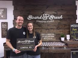 Bakers Rack Lenexa Diy Wood Sign Workshop Lenexa Ks Board And Brush
