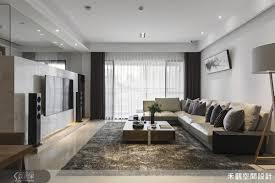 location bureau journ馥 位移原本存在於客廳角落的房間入口 延展沙發背牆的完整尺度 電視牆