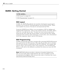 text layout programming guide buildgui matlab