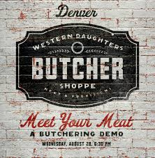 hey denver the amazing new local butcher shop weve been working