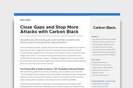 cyber security resource library carbon black