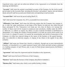 subscription agreement 11 free samples examples format