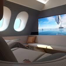 Airplane Interior Aircraft Design Dezeen