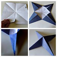 Ameroonie Designs Folded Paper Star Tutorial