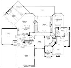 country style house plan 4 beds 4 5 baths 4371 sq ft plan 437