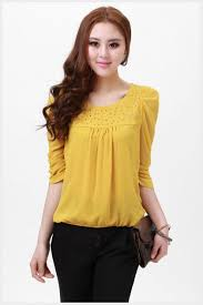 womens yellow tops blouses heusen dress shirt womens shirts tops blouses