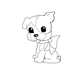 dog coloring page for kids free stock photo public domain pictures