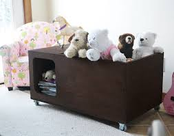 Build A Toy Box Diy by Ana White Modern Purebond Toy Box Diy Projects