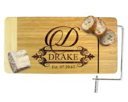 personalized cheese platter custom cheese knife etsy