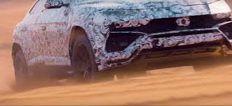 off road lamborghini lamborghini urus takes to the dunes in