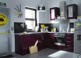 cuisine couleur violet idée cuisine violet