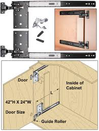 cabinet concealed door slides sliding bookcase hidden door