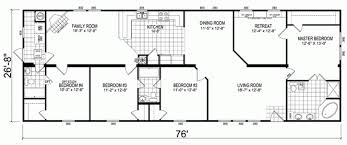 5 Bedroom Manufactured Home Floor Plans 18 Wide Mobile Home Floor Plans Amazing House Plans