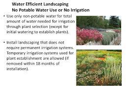 water efficiency 1 sustainable sites 2 water efficiency goals