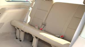 2012 nissan armada folding rear seats youtube