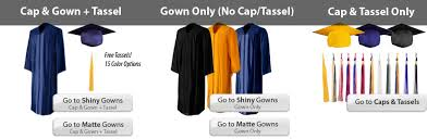 academic robes graduation cap gowns caps robes tassels
