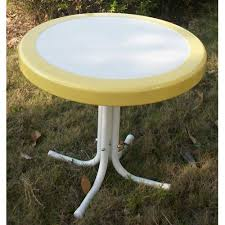Outdoor Bistro Table Retro Outdoor Bistro Table Colors Walmart