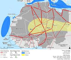Tufts Campus Map The Perils Of Migration Out Of Africa Here U0026 Now