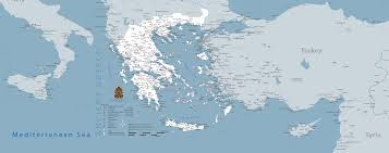 Turkey Greece Map by Ancient Greece Map 3321 X 1317 Mapporn