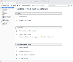 email resume sample message mozilla thunderbird wikipedia
