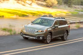 subaru crossover 2015 2015 subaru outback first drive motor trend