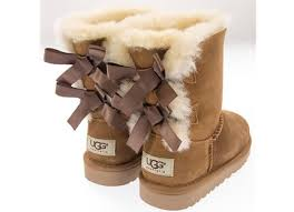 ugg bailey bow chestnut sale ugg kid bailey bow 3280 che