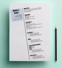 Innovative Resume Templates Creative Elegant Resume Template Microsoft Word Downloadable