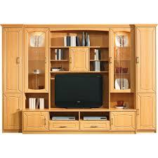 Led Beleuchtung Wohnzimmerschrank Wohnwand Mit Integriertem Kleiderschrank Home Design Und Möbel