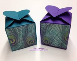 peacock wedding favors peacock favor boxes etsy