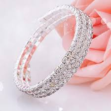 wedding jewelry bracelet crystal images Fashion crystal bridal bracelet cheap in stock rhinestone wedding jpg