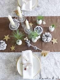 kerstin ich selbermachen weihnachtliche tischdeko mit diy