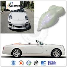 silver white car spray pearl pigment silver white car paint colors
