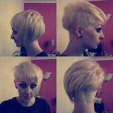 yeah short haired women asymmetrical short hairstyle for