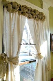 burlap window treatments u2013 godiet club