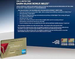 delta gold business card 50 000 bonus mile offer for amex gold delta skymiles card targeted