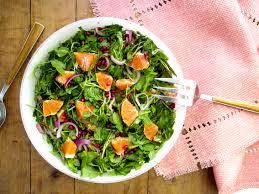 thanksgiving salad with arugula citrus the blade