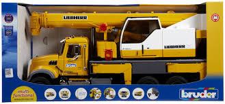 bruder mack granite liebherr crane truck free shipping gift