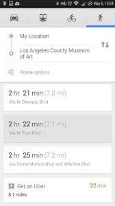 Map My Walk App Major Google Maps Update Brings Uber Integration New Navigation