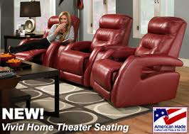 Reclining Chair Theaters American Made Home Theater Recliner Chairs