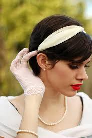 1950s headband diy 1950 s style headband how to make a fabric headband home