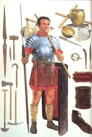a roman legionary of the reign of marcus aurelius
