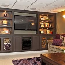 Home Basement Ideas Best 25 Basement Entertainment Center Ideas On Pinterest Wall