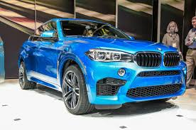 Bmw X5 Blue - 2015 bmw x5 m x6 m debut with improved performance motor trend wot