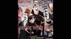 hotel transylvania coloring book color
