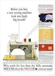 vintage necchi ads u2013 quilter u0027s bug