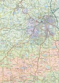 Northern Ireland Map Survey Discoverer Map 28 Monaghan Keady Castleblayney