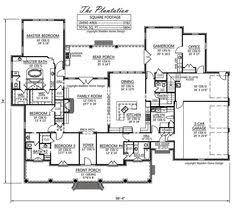 ingenious one story dream home plans 6 country french southern