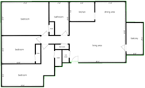 a floorplan opencv how to get the external contour of a floorplan in python