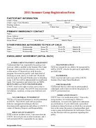 100 summer camp application template this is the