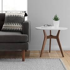 mid century modern accent table emmond mid century modern accent table project 62 small spaces